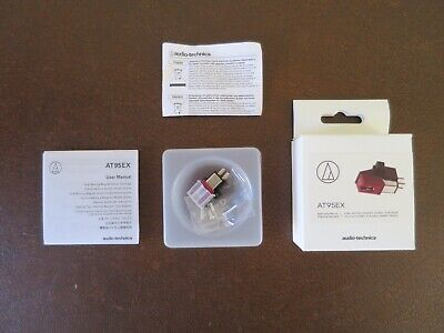 Audio Technica AT95EX Dual Moving Magnet Stereo Phono Cartridge - Low Hours Use