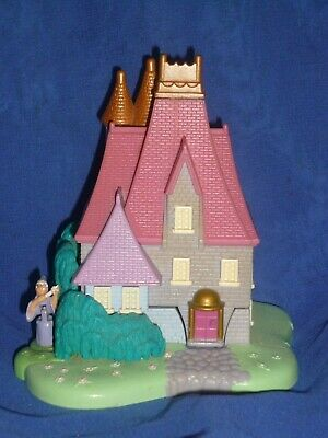 1995 Vintage Polly Pocket Disney Cinderella Stepmother's House & One Figure