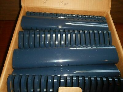 "LOT of 97 pieces 2"" Navy Blue Plastic Binding Combs 19 Ring"