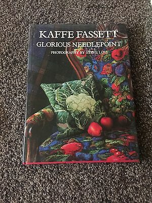 Glorious Needlepoint by Kaffe Fassett (Hardback, 1987)
