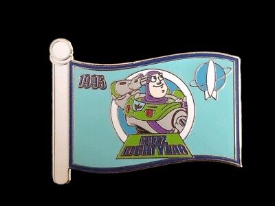 Disney Pin WDW - Mystery Box Set - Character Flags - Buzz Lightyear LE 1000