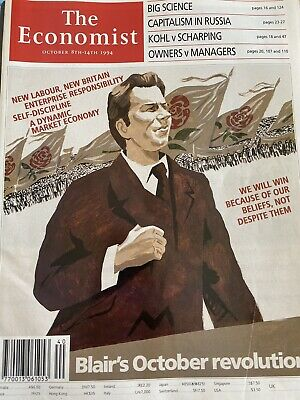 "The Economist Magazine Oct 8th - 14th 1994 ""Blair's October Revolution"""