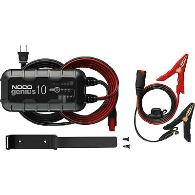 NOCO Genius 10 - 6v 12v - 10 Amp Battery Charger and Maintainer - NEW