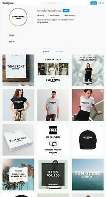 Online Clothing Brand (Business For Sale)