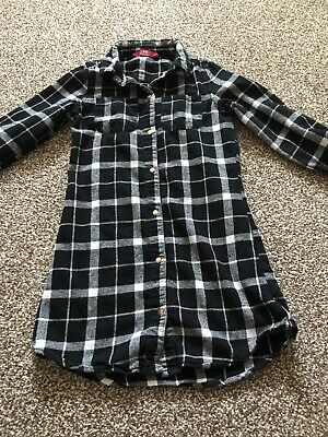 Young Dimensions Girls Age 8-9 Years Fantastic Longline Shirt Gorgeous Design Ex