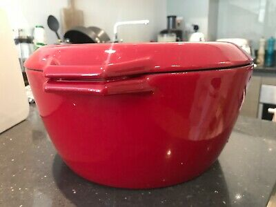 AGA - Large Red Cast Iron Cooking Pots