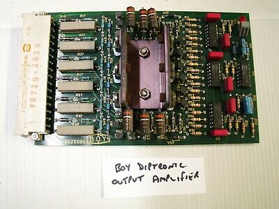 BOY Diptronic Output Amplifier Card PCB 9626084