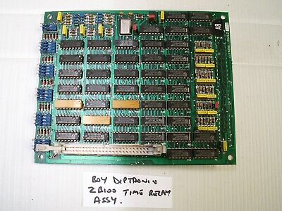 BOY Diptronic ZB100 Time Relay Assy Assembly Card PCB