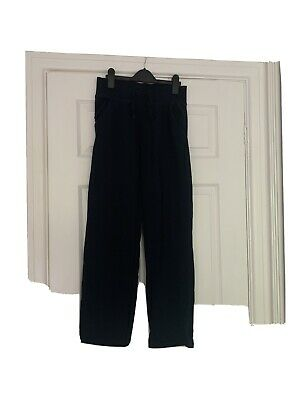 Girls school sports trousers navy blue marks and spencer age 11-12 years