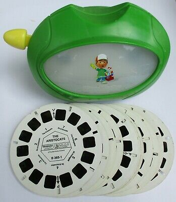 View-Master 3D Bildbetrachter - Virtual Viewer Bob + 12 Bildscheiben Comics