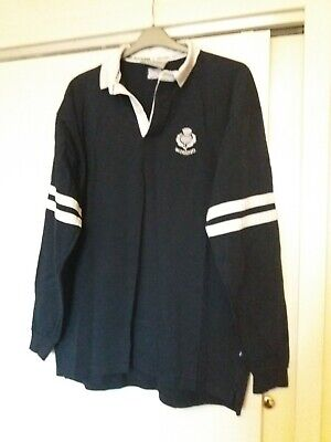 Mens Scotland Long Sleeved Rugby Top Size Xl