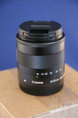 Canon EF-M 18-55mm f/3.5-5.6 IS STM for EOS M cameras. Exc working order. xxx389