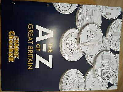 Full Set Of  A-Z Great Britain Uncirculated Early Strike 10p Coins Dated2018 .