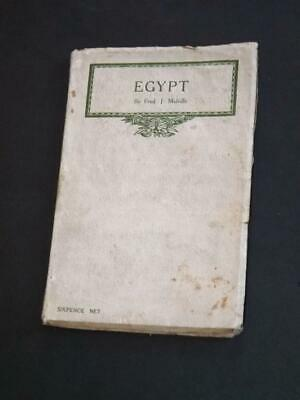 Egypt-1915 Book By Fred Melville-81 Pages-Interesting Reference Work