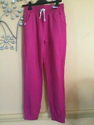BNWOT pink joggers, 13 years, casual trousers