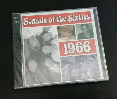 Cd Double Album - Timelife - Sounds Of The Sixties - 1966 - New And Sealed