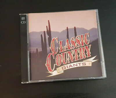 Cd Double Album - Timelife - Classic Country - Giants