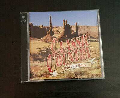 Cd Double Album - Timelife - Classic Country - 1950-1956