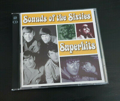 Cd Double Album - Timelife - Sounds Of The Sixties - Superhits
