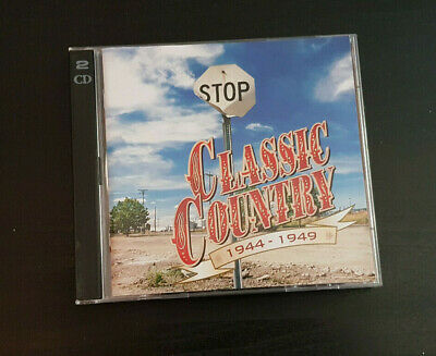 Cd Double Album - Timelife - Classic Country - 1944-1949