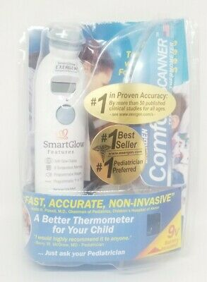Exergen Temporal Artery Forehead Thermometer - TAT-2000C Home Model *NO BOX/NEW*