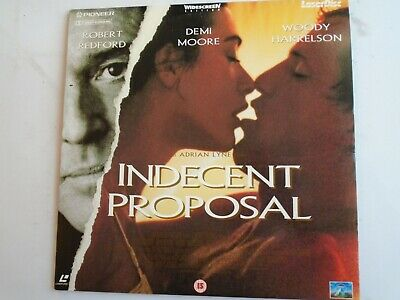 INDECENT PROPOSAL LASERDISC PAL widescreen Demi Moore Robert Redford