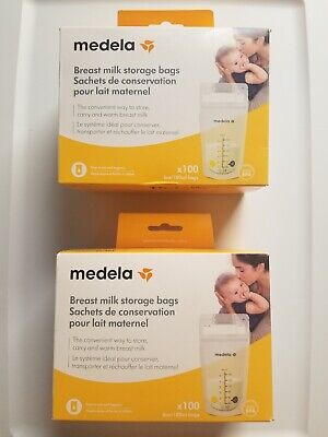 Medela, Breast Milk Storage Bags, approximately 200 Count