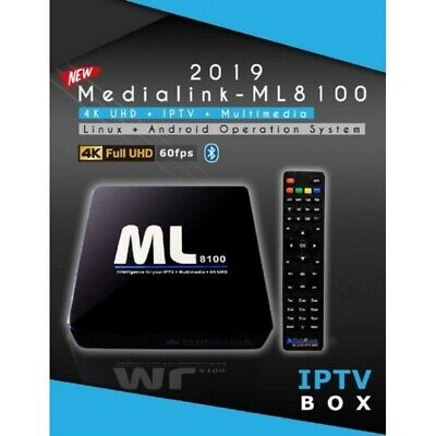Medialink ML8100 Android & Linux IPTV set-top-box Wi-Fi Bluetooth