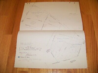 Map Drawing City of Perth Amboy Middlesex County New Jersey Federal Hill Farm