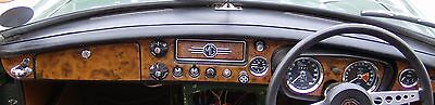 Mgb & Gt 1962 - 1969 Walnut Wood Dash Kit