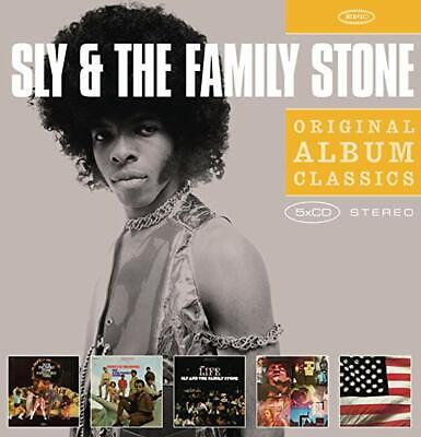 ID15z - Sly  The Family Stone - Original Album Class - CD - New