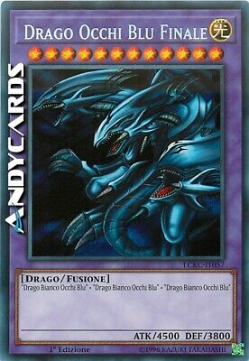 DRAGO OCCHI BLU FINALE (Blue-Eyes Ultimate Dragon) • Segreta • LCKC IT057 Yugioh