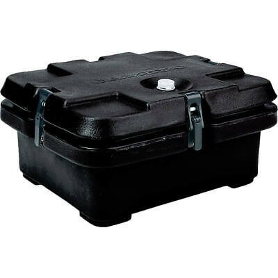 Cambro Top Loading Insulated Food Carrier, Half Size Pans Black 240Mpc-110