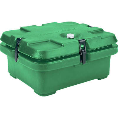 Cambro Top Loading Insulated Food Carrier, Half Size Pans Green 240Mpc-519