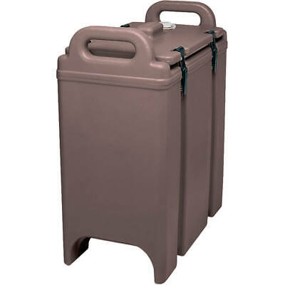 Cambro 3-3/8 Gal. Insulated Soup Container Dark Brown 350Lcd-131