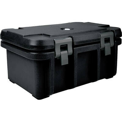 """Cambro Top Loading Insulated Food Carrier For 8"""" Deep Pans Black Upc180-110"""