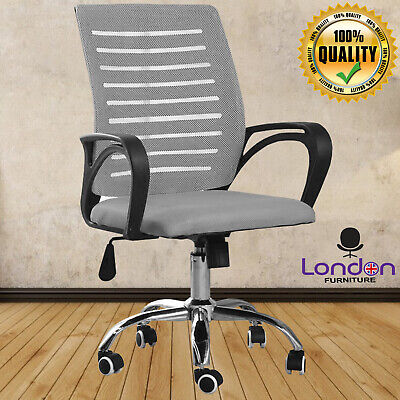 Ergonomic Office Chair Mesh Back Executive Computer Chair Lumbar Back Support