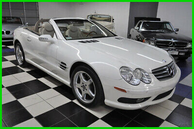 2003 Mercedes-Benz SL-Class SL 500 - 43K MILES - STUNNING - CLEAN CARFAX !!! NICEST COLORS - AMAZING CONDITION - DEALER MAINTAINED