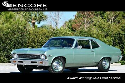 1968 Chevrolet Nova L-79 2 Door Coupe 1968 Nova Coupe 11,228 Miles With warranty-Trades,Financing & Shipping