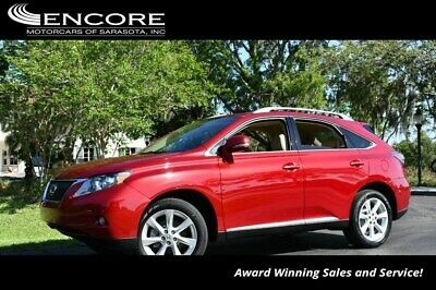 2010 Lexus RX FWD 4 Door SUV W/Premium Package 2010 RX 350 SUV 53,940 Miles With warranty-Trades,Financing & Shipping