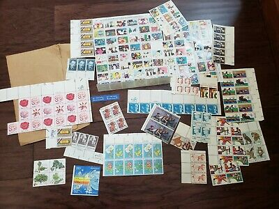 Lot of Unused US Postage Stamps Sheets Einstein Kennedy Christmas + More!