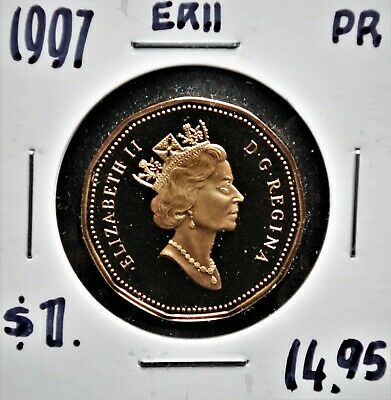 1997 Canada $1 Proof Struck Loonie