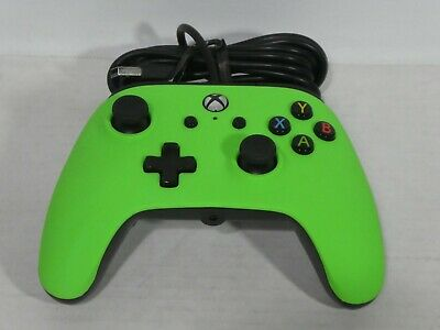 XBOX ONE Power A Enhanced wired controller for XBOX ONE Neon GREEN
