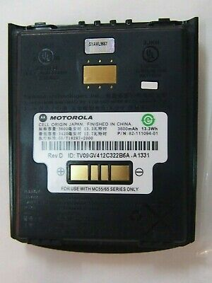 NEW 3600mAh Genuine Battery For Symbol Zebra Motorola MC55/MC65 p/n 82-111094-01