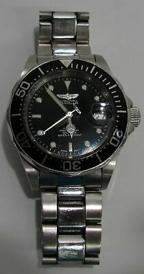 Invicta 8926 Black Mens Stainless Steel Link Band Pro Diver Automatic Watch