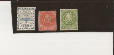 ARGENTINA- 3 early stamps-Expensive or reprints?
