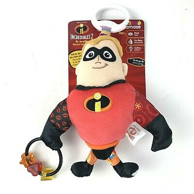 Lamaze Clip & Go Mr. Incredible Kids Childrens Toy Baby 0+ Months - New