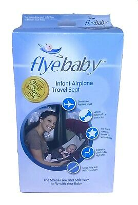 Flyebaby Infant Airplane Travel Hammock Seat & Portable Highchair Excellent