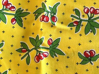 "Cotton Fabric ""Berry's Jubilee"" HOPSCOTCH QUILTING Peggy Waltman 4 1/2 Yd x42"""