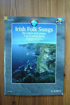 Irish Folk Songs - Singstimme und Klavier/CD  -  Mängelexemplar